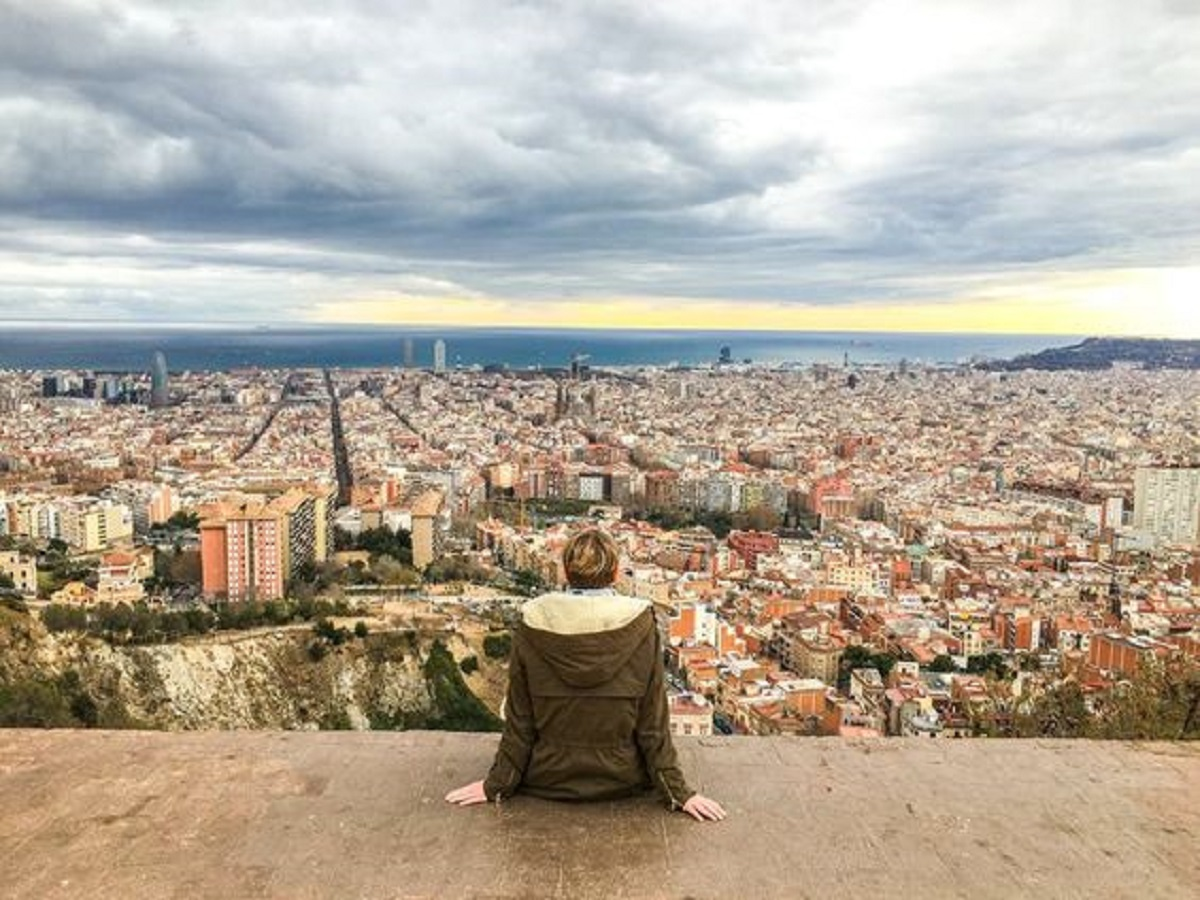 Look out where to get the best view of Barcelona.